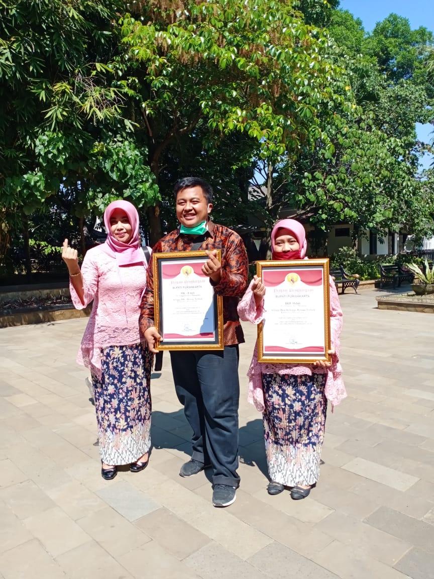 Desa Linggasari meraih penghargaan tertinggi lomba BKR dan PIK-R tingkat provinsi mewakili kabupaten purwakarta